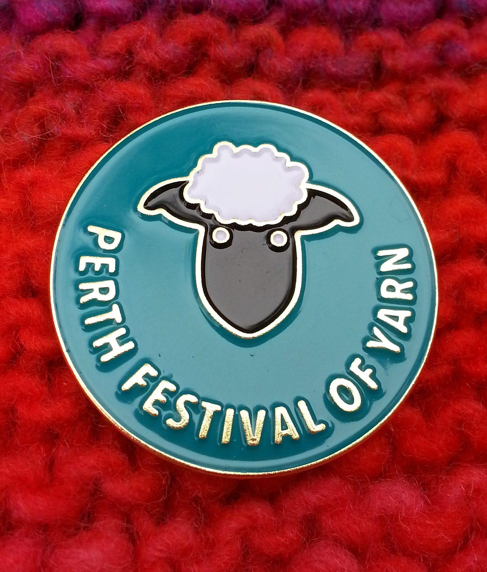 Perth Festival of Yarn 2019 merchandise – Polly Knitter